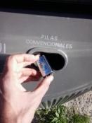 contenedor pilas